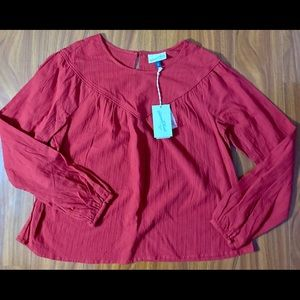 Long sleeve blouse NWT